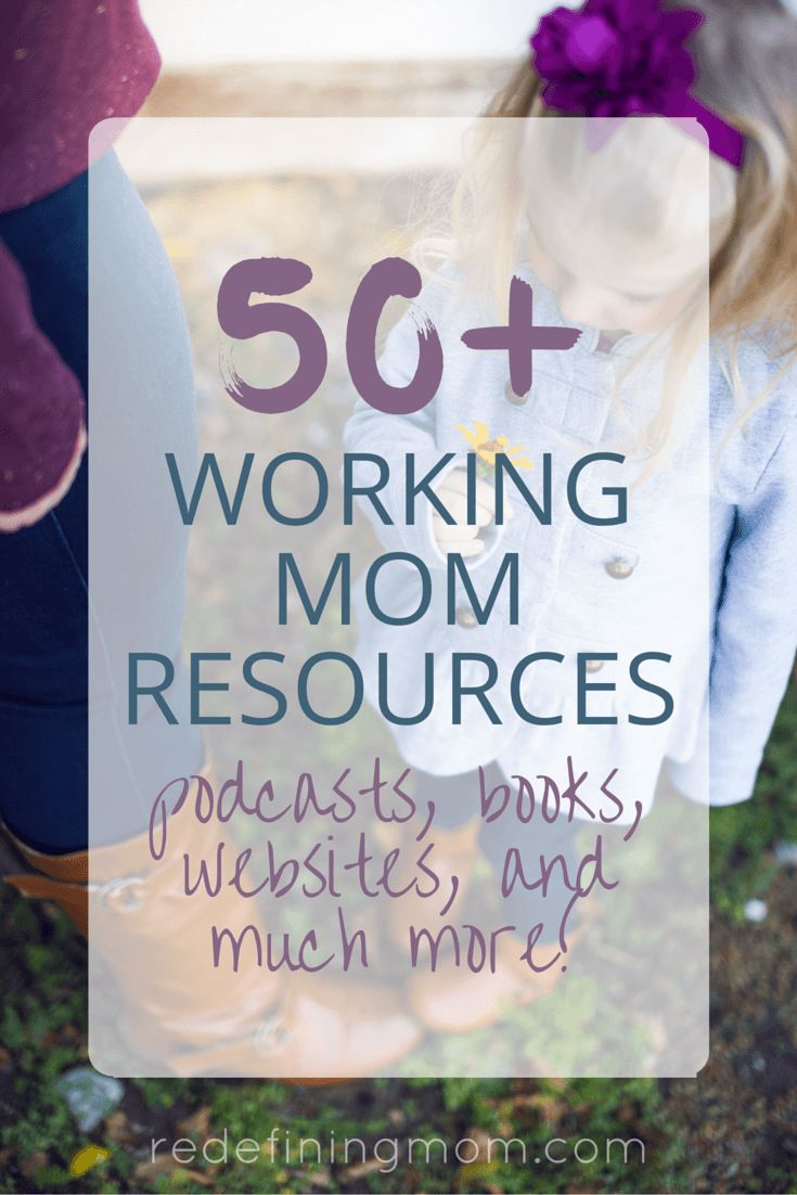 A full list of working mom resources including productivity apps, organization tips, websites, books, podcasts, educational resources, and much more! via @redefinemom