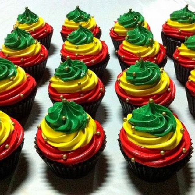 Rasta Cookie Pinned By Katie Benford Cupcakes