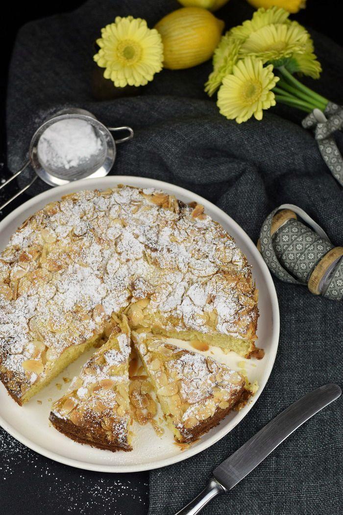 Unglaublich saftig: Schwedischer Mandelkuchen mit Zitrone (Glutenfrei)
