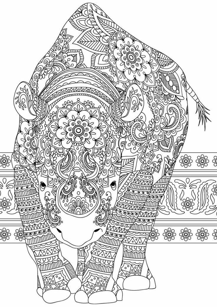 Mammals Print Coloring Pages