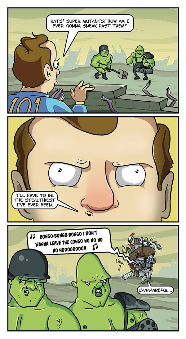"""The Problem With Fallout's Sneaking"" #dorkly #geek #fallout"