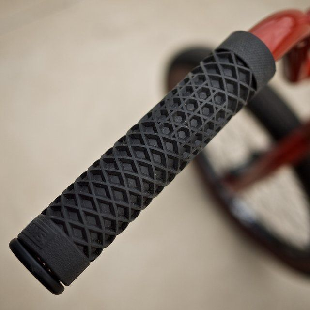 Cult Vans Waffle Sole Bike Grips / The Cult Vans Waffle Sole Bike Grips have been redesigned and engineered to make them useful as bicycle handlebar grips. http://thegadgetflow.com/portfolio/cult-vans-waffle-sole-bike-grips/