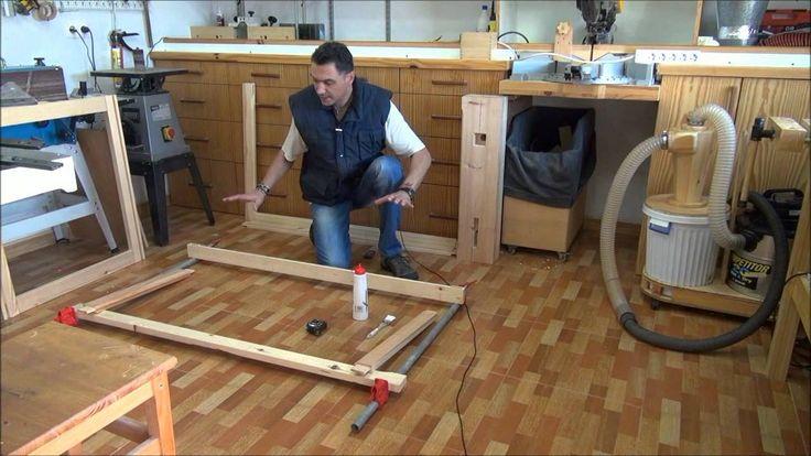 2/5 - Banco de carpintero, la base 2 - How to build a workbench, the base 2