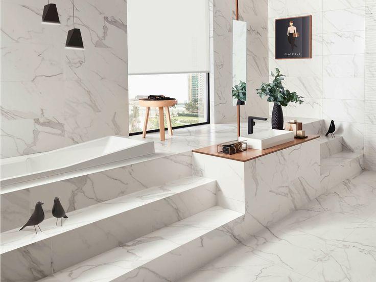 Revêtement de sol en céramique pâte blanche effet marbre PRECIOUS | Revêtement de sol - Gres Panaria Portugal S.A. - Divisão Love Tiles