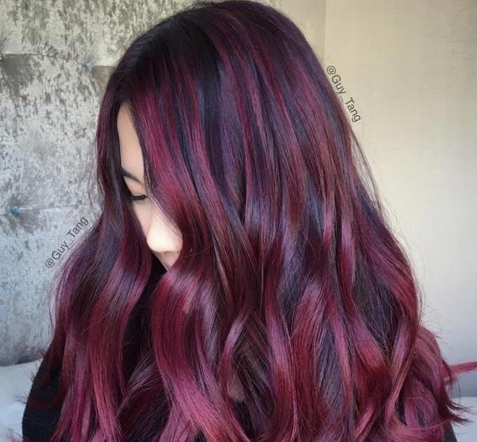 40 Hair Color Ideas That Are Perfectly On Point In 2019 40 Best Bob Hair Color Ideas Bob Hairstyles 2 In 2020 Burgundy Hair Blackberry Hair Colour Brunette Hair Color