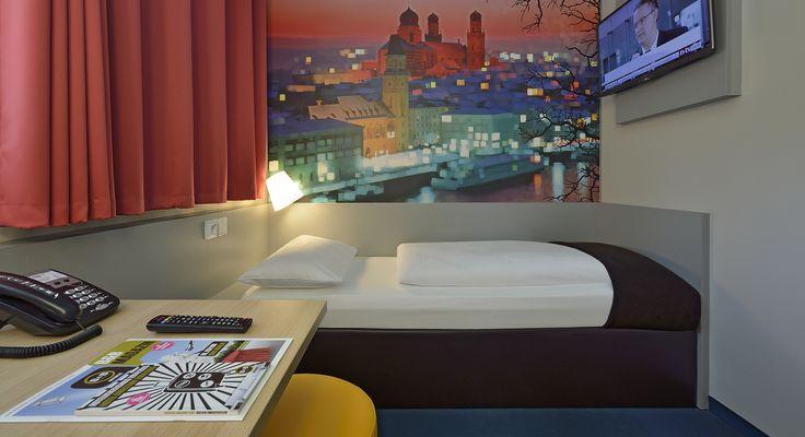 Barrierefreies Zimmer im B&B Hotel Passau