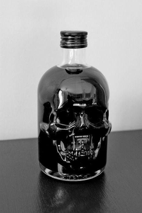 Skull Bottle.
