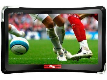 """GPS Automotivo Quatro Rodas Aquarius Tela 4,3"""" - Touch Screen com TV Digital Alerta de Velocidade"""