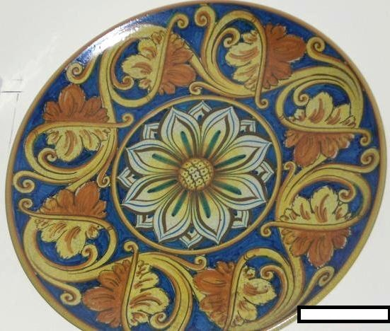 """The time to buy is NOW! Romeo is offering select 17"""" decorative plates at a ~ SPECIAL OFFER!! ~ Beautiful, large 17"""" decorative plate with stunning detail - $175.99USD!! (plus shipping charge based on destination)  Discounts for quantity purchase of 2 or more..."""