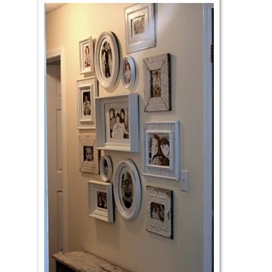 Lounge room - large blank wall!