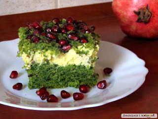 Smacznie i Kolorowo: Ciasto leśny mech