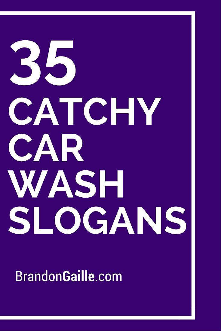 35 Catchy Car Wash Slogans