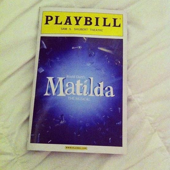 Matilda on Broadway