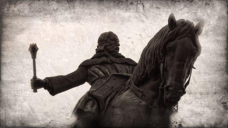 Jezdecká socha Jana Žižky z Trocnova