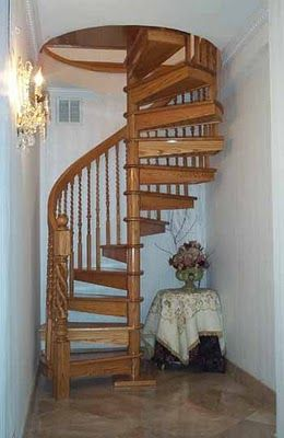 Spiral Stairs To The Attic Reading Room My Dream Home