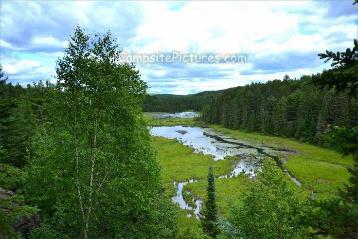 Algonquin Park Trails, Camping in Ontario, Beaver Pond #algonquinpark