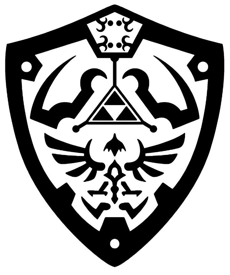 Hylian shield vector by reptiletc.deviantart.com on @deviantART