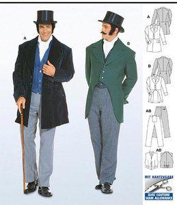 Men's 1800s Fashion