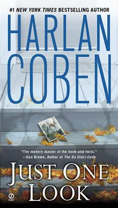 Harlan Coben - Just One Look    First mystery/murder book I've ever read  loved it will definitely be getting moree !
