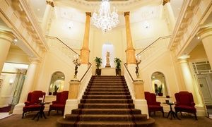 Groupon - Cardiff: 1 or 2 Nights with Breakfast, Dinner, Wine, Late Check-Out and Option for an Afternoon Tea at The Angel Hotel in Cardiff. Groupon deal price: £89