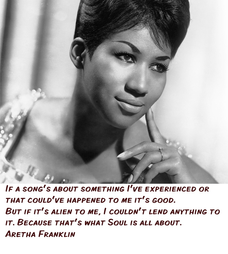 Aretha Franklin quote especially made for our MISSTRI MUSIC Facebook fans ;-) http://www.misstrimusic.com