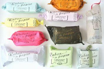薄葉紙の紙袋10色セット - 紙モノのアトリエ アンクルダンクル