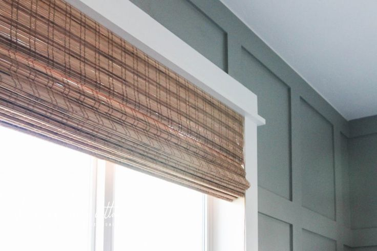 The Office Blinds by The Wood Grain Cottage