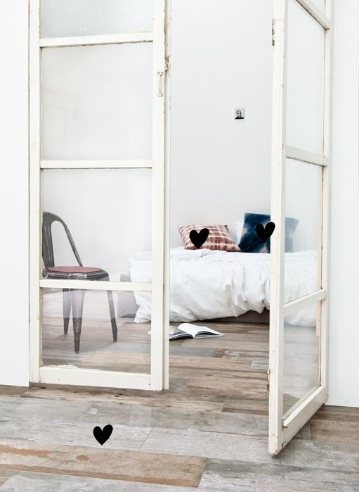 VT wonen vloer tegels sloophout via Koltegels