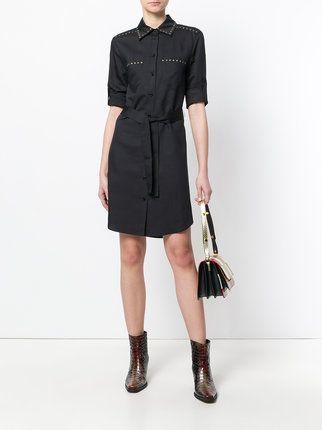 Moschino studded shirt dress