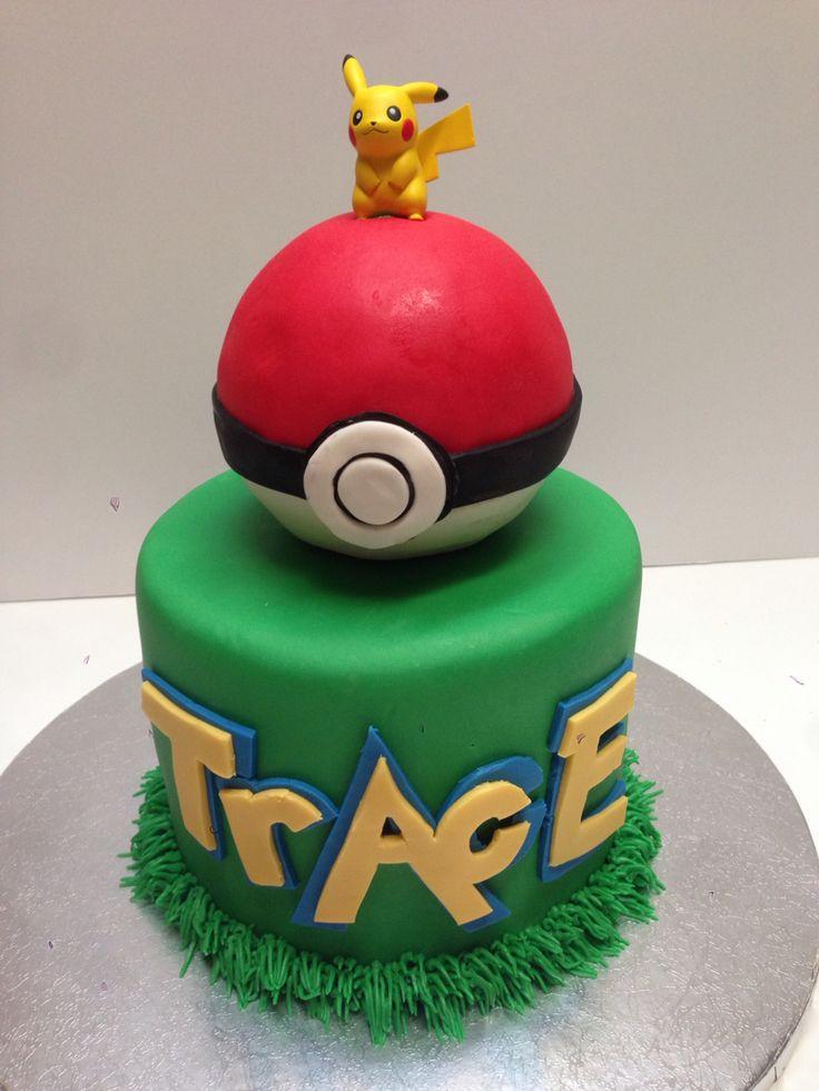 Pokemon Cake Pokemon Pinterest