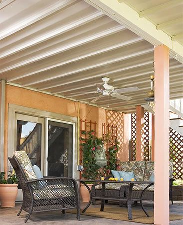 Many types of manufactured under-deck roofing systems are available online. With a how-to guide
