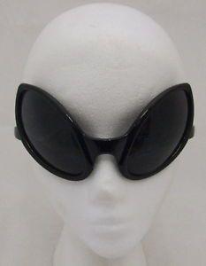 EUR 3.79 Alien-Fancy-Dress-Glasses-Bug-Eyes-Fly-Sunglasses-New-Black-1st-Class-Postage