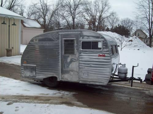 1962 scotty 13 foot mattress model camper 5595 tct for Aladdin motor inn portland