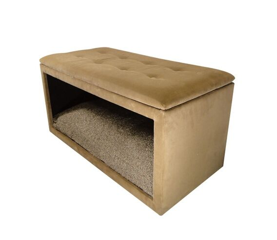 17 best images about pet stuff on pinterest pet for Upholstered dog bed