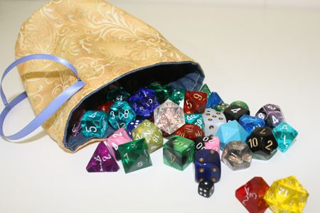 Lined Dice Bag Tutorial Quot For All Your Polyhedral Needs