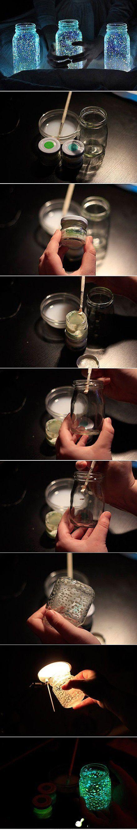 Lucioles de verre