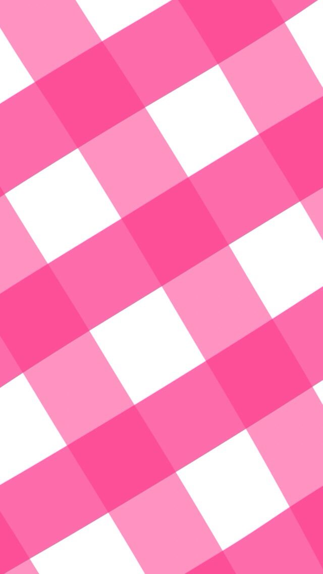Pink plaid gingham iphone wallpaper A View for Your