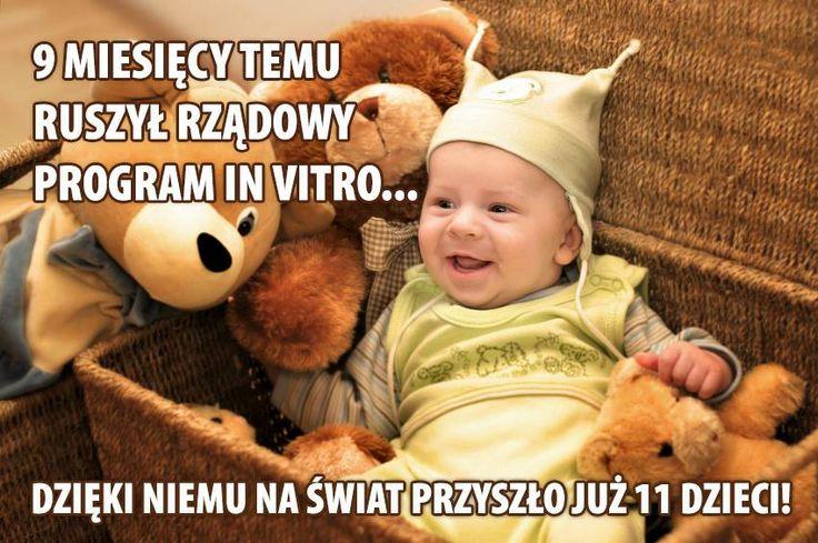 Ta pozytywna informacja była tylko kwestią czasu.  Więcej o rządowym programie in vitro tutaj: http://www.invitro.gov.pl/