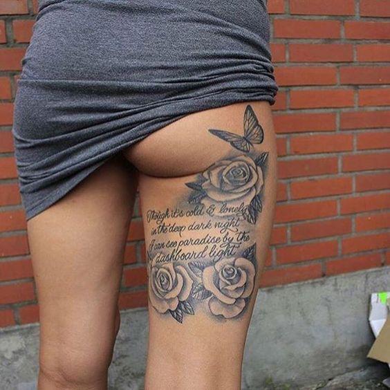 #Love leg tattoos! ❤️