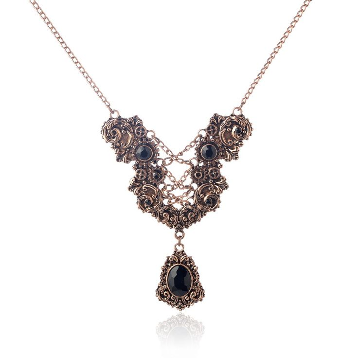 Vintage steampunk fashion necklace jewelry for women-in Pendant Necklaces from Jewelry & Accessories on Aliexpress.com | Alibaba Group