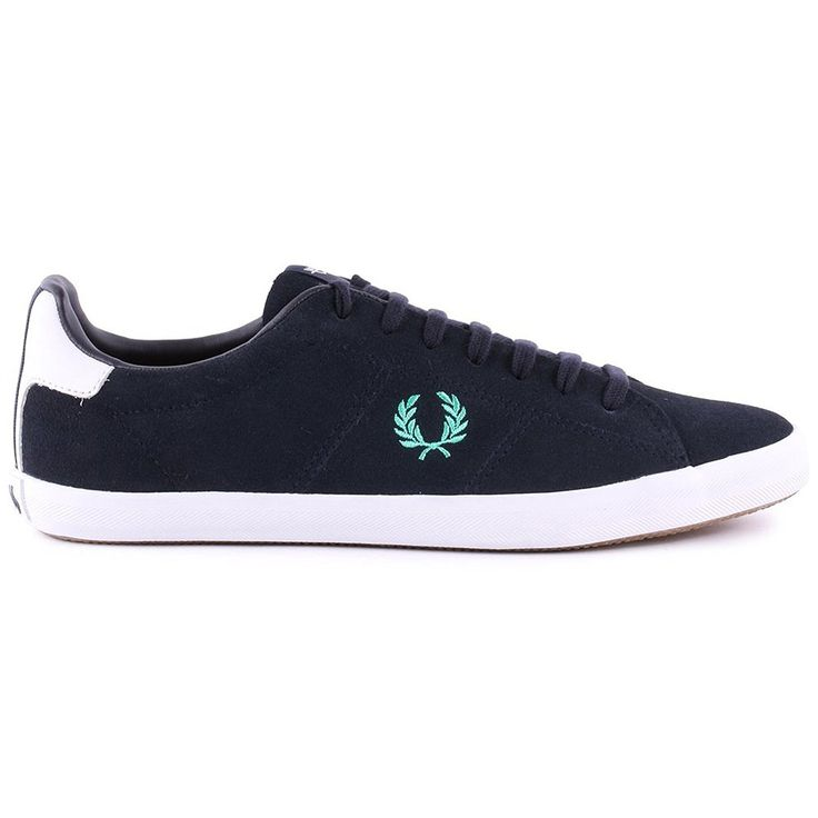 Fred Perry Howells Suede Navy Womens Trainers - B4211W-386 -- Details can be found by clicking on the image.