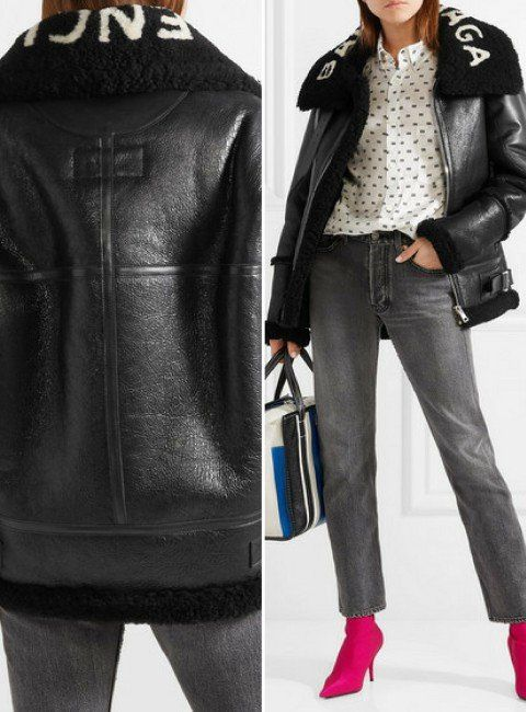 8 Balenciaga Women s Leather Jackets that Look Extremely Badass ... 1b2ed0278a