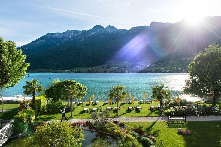 Parc Hotel am See in Kaltern in Südtirol: Willkommen am Kalterer See