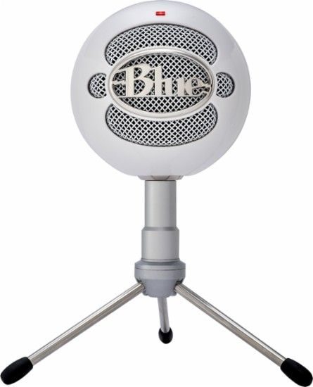 Blue Microphones - Snowball iCE USB Microphone - White - Front Zoom
