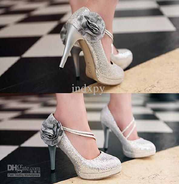 Best Silver Bridesmaid Shoes