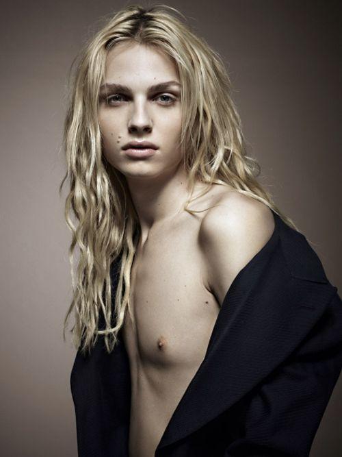 Will the fashion world accept Andreja Pejic as a woman? / andreja pejic / transgender / lgbt / modeling / MATTHEW SCHNEIER / androgyny model / androgynous ...