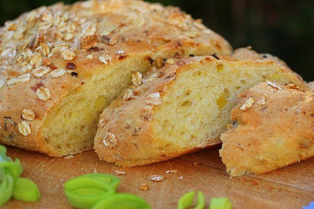 super leckeres und herzhaftes Brot mit Kartoffeln. Kartoffelbrot. Saftig, Fluffig.