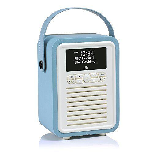 Deals week  VQ Retro Mini DAB    DAB  Digital Radio with FM Bluetooth    Alarm Clock  8211