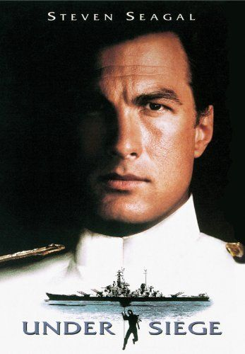 """Under Siege ~ """"A former SEAL, now cook, is the only person who can stop a gang of terrorists when they sieze control of a US Navy battleship."""""""
