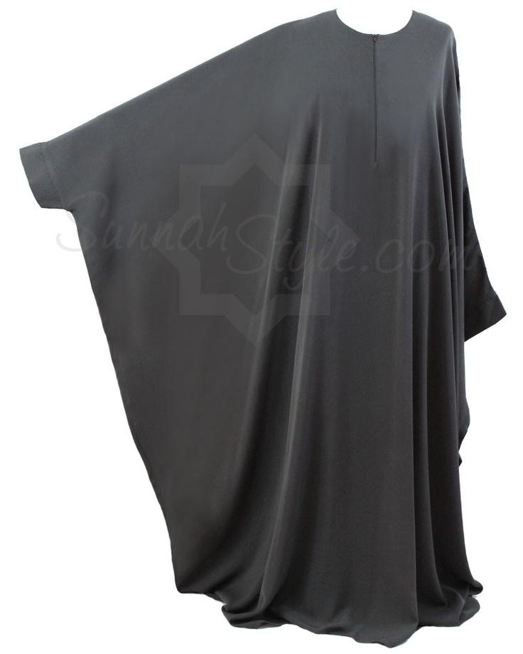 Essential Bisht Abaya (Dark Grey) by Sunnah Style #SunnahStyle #abayastyle #bisht #IslamicClothing